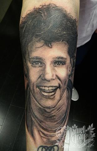Daniel Gray Tattoos